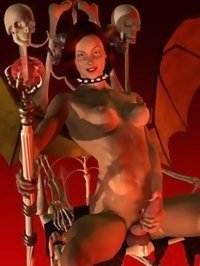 redhead futanari monster wants to fuck now!